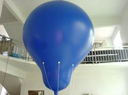 Blue 2m Diameter Hot Air Shaped Advertising Balloon for Sale