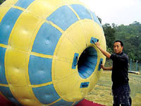 Strongest PVC Tarpaulin Inflatable Zorb Ball for Sale