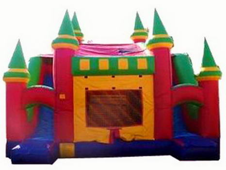 4 In 1 Slide N Slip Dip Inflatable Jumping Castle Combo