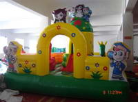 Commercial Inflatable Jungle Playground For Sale