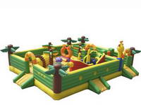 Hotting Sale Inflatable Baseball Field Fun City
