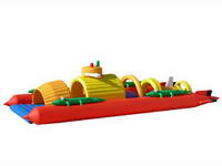 Inflatable Cruiser Ship Playground for Kiddie Playground Paradise