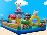 Inflatable Pleasant Sheep Theme Funland/Inflatable Obstacle