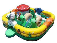 Good Quality Inflatable Mushroom Playground Bouncer House
