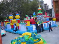 Inflatable Kids Outdoor Playhouses for Park Sale