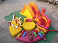 Inflatable Round Obstacle Combo for Entertainment Park