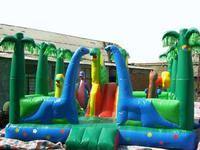 Inflatable Jurassic Park Dinosaur Play Zone Fun Land