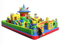 Popular and Exciting Inflatable Commercial Grade Playground