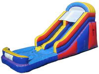 Wet Or Dry 18ft Tall Inflatable Slide