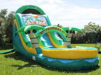 18ft Tropical Oasis Wet Slide