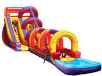 Super Slip And Dip Water Slide