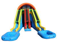 Inflatable Raging Rapids Water Slide