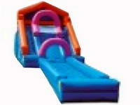 21ft Inflatable Drop Zone Slide Combo