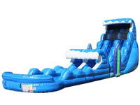 Giant Inflatable Tsunami Water Slide Combo