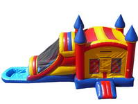 Inflatable Castle Water Slide Combo