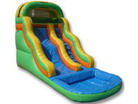 16ft Inflatable Wavy Water Slide