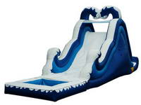 Inflatable Double Drop Water Slide