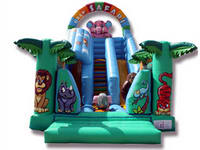Cheerful Inflatable Sarafi Slide for Rental