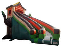 Inflatable Tree House Slide CLI-842