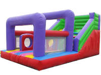 Home Use Inflatable Slide With Jumping House