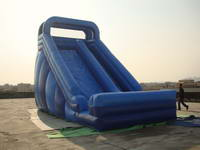 Commercial Blue Inflatable Slide for Sale