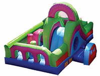 Inflatable Custom Color Obstacle Course for Sale
