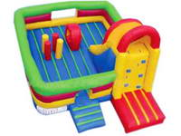 Inflatable Novel Bouncer Obstacle Course Fun City