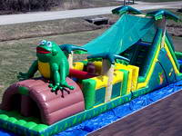 Inflatable obstacle course OBS-412-3