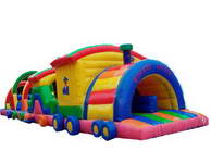 Inflatable obstacle course OBS-422