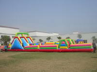 Inflatable obstacle course race OBS-551