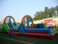 Inflatable obstacle course race OBS-553