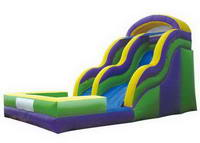18ft Inflatable Double Dip Water Slide