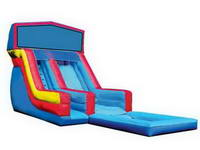 18ft Super Splash Down Wet Slide with Removable Panels