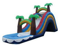 Unique Jungle Theme Water Slide