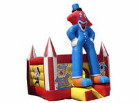 Inflatable Best Stiching Clown Mini Bounce House