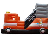 Inflatable Fire Truck Bouncer