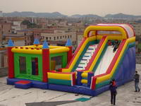 Composable Bounce House Slide Inflatable Combo