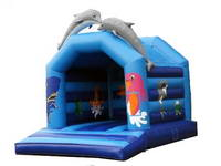 Inflatable Dolphin Jumping Bouncer BOU-391