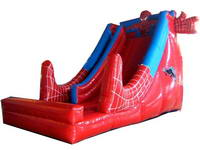 New Arrival Reinforced Inflatable Spiderman Slide for Rental