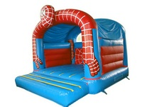 Inflatable Common But Cheap Spiderman Jumping bouncer