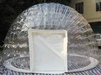 Hot Sale Double Layers Clear Inflatable Bubble Tent for Rental