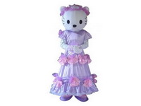 Hello Kitty Cat Adult Disney Cartoon Mascot Costume for Rentals