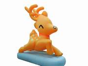 3 Foot Tall Inflatable Deer Christmas Decoraion Prop