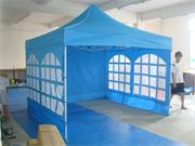 Light blue Advertising Folding Tent 3m by 3m with Side Pannels