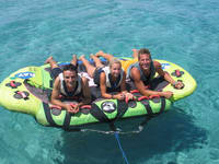 Crazy UFO Inflatable Water Ski Tubes Sting Ray Towable Boat Tubes for Water Sports