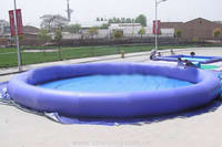 High Quality Hot Air Welded Inflatable Round Pool for Sale