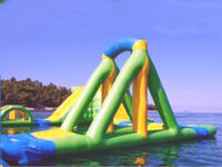 Custom Made Inflatable Water Park Slide for Sale