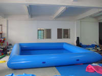 Good Quality 0.6mm PVC Tarpaulin Full Color Inflatable Pool for sale
