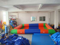 Low Cost Multi-colors Inflatable Pool for water ball sports
