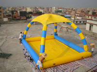 Inflatable Pool Tent-230-1